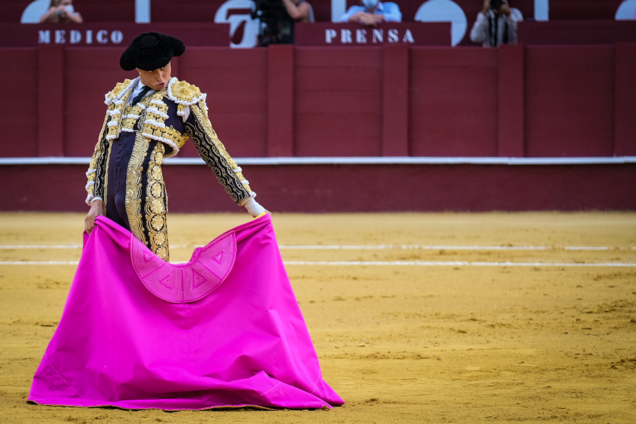 Roca Rey en Málaga 2021
