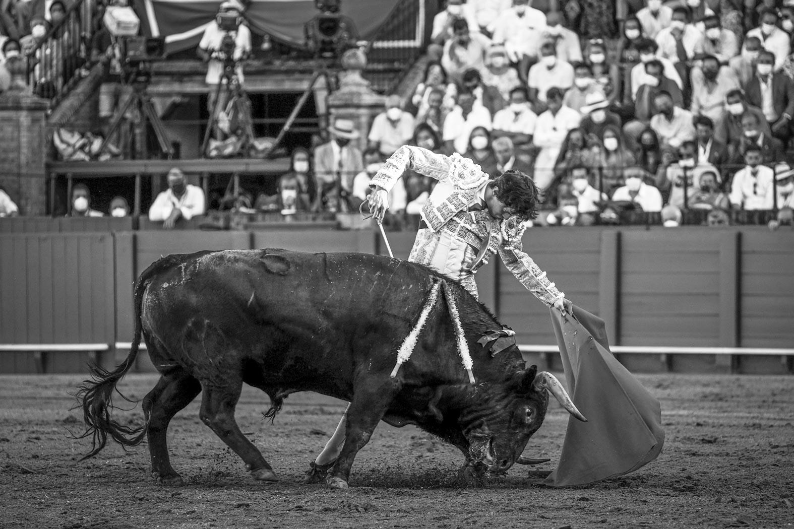Fotografia de Roca Rey en Sevilla el 18 de septiembre de 2021